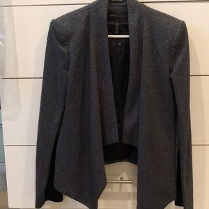 Beauty shimmery black blazer